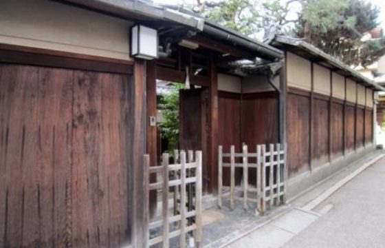 Traditional house near Fushimi Inari Shrine