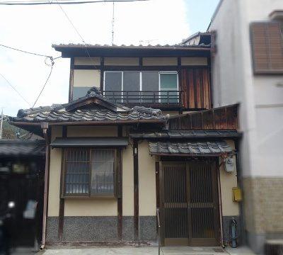 A small Machiya in Higashiyama Imagumano