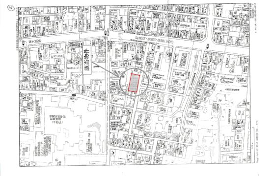 Land for sale in Higashiyama near Yasaka Shrine