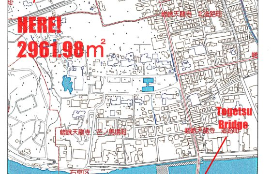 Big Land for sale in Arashiyama